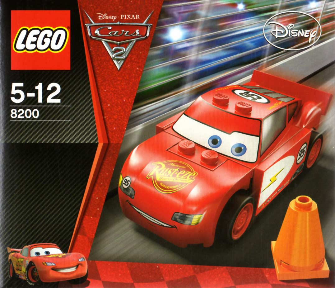 lego 8200 flash mcqueen cars 2. Black Bedroom Furniture Sets. Home Design Ideas