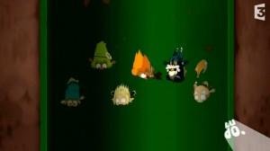 Durant la chute les personnages se transforment en SD (Wakfu)