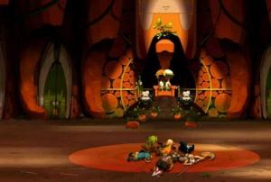 La salle du trône du Wa Wabbit (Wakfu)