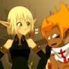 Tristepin apprécie quand Evangelyne laisse parler son coeur (Wakfu)