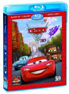Blu Rays / DVD / copie digitale Cars 2