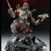 Figurine Diablo 3 Overthrown Barbare: 3 / 4 gauche
