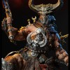 Figurine Diablo 3 Overthrown Barbare : détail du casque