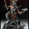 Figurine Diablo 3 Overthrown Barbare : avec le casque de face