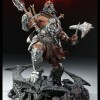 Figurine Diablo 3 Overthrown Barbare : devant