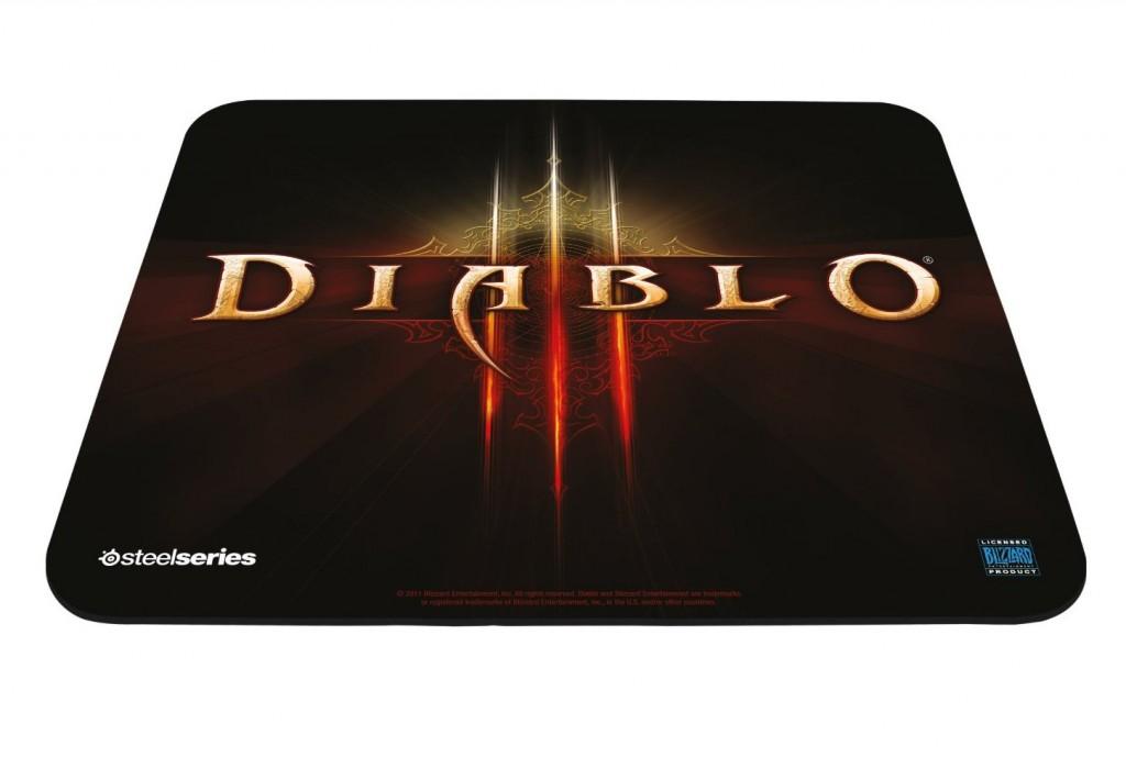 Tapis de souris logo de Diablo 3