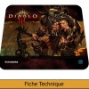 Image principale tapis de souris Steelseries Diablo 3