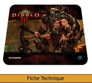 Image principale tapis de souris Steelseries Diablo 3