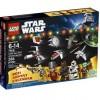 Boite du calendrier de l'avent Lego Starwars