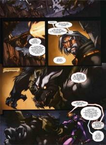 Page 1 du tome 3 de la malédiction des worgens