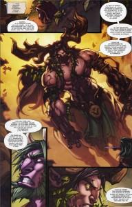 Page 2 du tome 3 de la malédiction des worgens