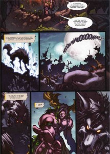 Page 3 du tome 3 de la malédiction des worgens