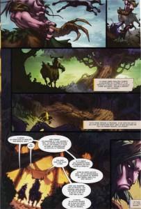 Page 4 du tome 3 de la malédiction des worgens