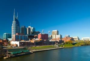 La ville de Nashville est considéré comme un grand centre de l'industrie du disque aux Etats-Unis