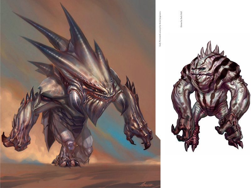 Image de monstres dans the art of Star Wars : the old Republic