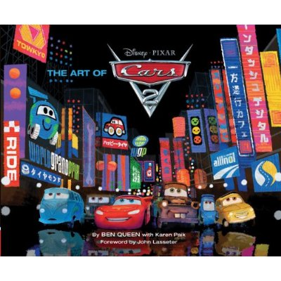 Couverture du livre the art of Cars 2
