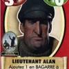 Carte rencontre Lieutenant Alan du jeu de société les aventures de Tintin
