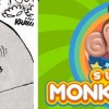 les oreilles d'Arty évoquent Super Monkey Ball