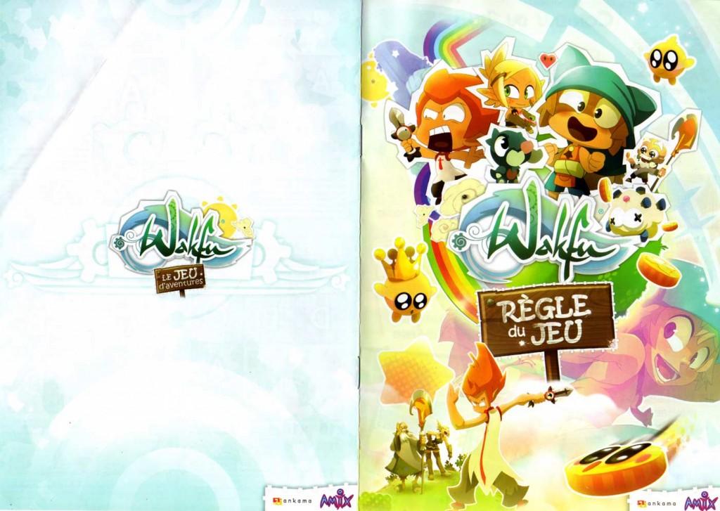 Page 1 de la notice du jeu d'aventures Wakfu