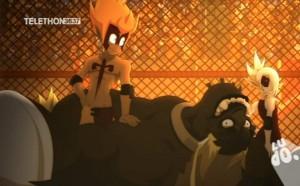 Tristepin et Cléphée sont très complices au combat