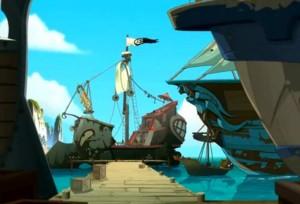 Ruel trouve un bateau qui ressemble à une épave