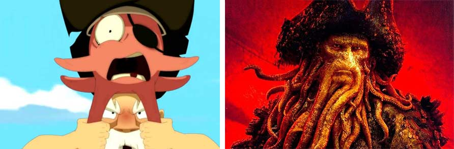 Ruel se prend pour Davy Jones (Wakfu)