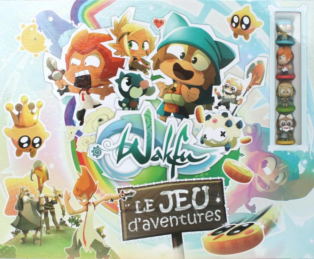 Packaging du jeu d'aventures Wakfu (jeu de société)