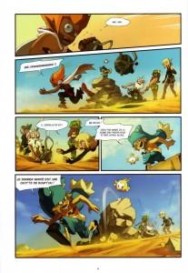 Page 2 du tome 1 Wakfu : Les Kamas de la soif