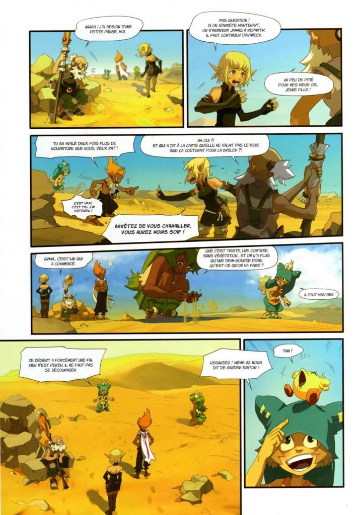 Page 3 du tome 1 Wakfu : Les Kamas de la soif