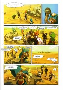 Page 4 du tome 1 Wakfu : Les Kamas de la soif