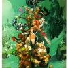 Illustration tirée du MMO de Wakfu (art book Xa Colors)
