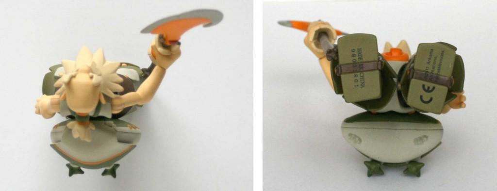 Vue de dessus et dessous de la figurine Wakfu DX N°5 de Ruel