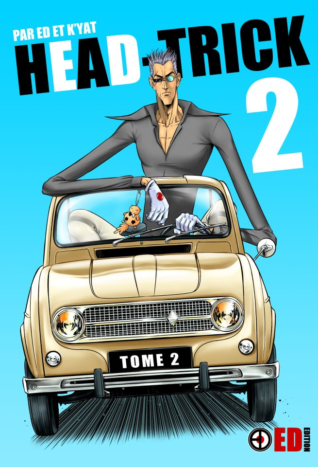 Couverture du tome 2 de Head Trick