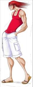Image du personnage principal Ed de Head-Trick en couleur