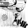 Flo'z (Head-Trick) porte une voiture à main nue