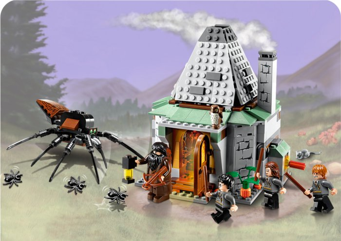 Lego Harry Potter : Hutte d'Haggrid