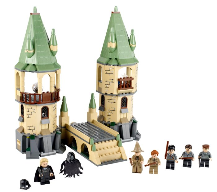 Entrée de Poudlard en Lego