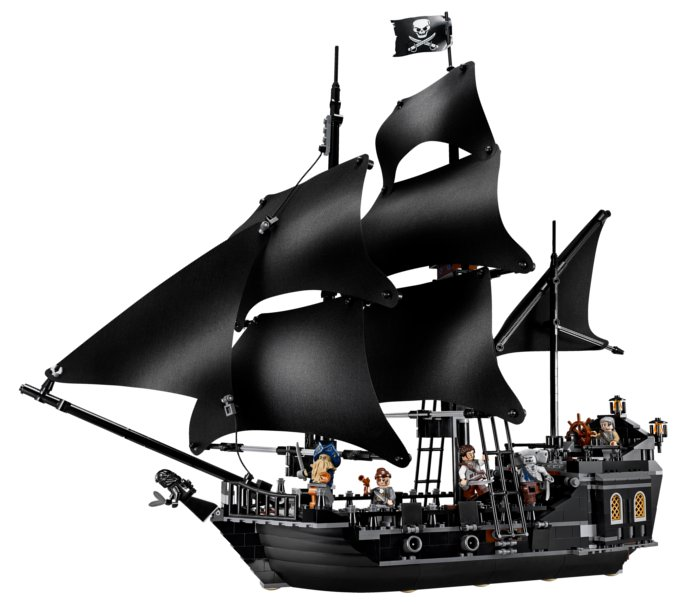 Image du Lego Black Pearl (Pirate des caraïbes)