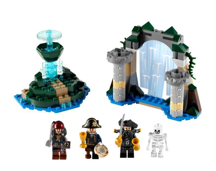Image du Lego la fontaine de Jouvence (Pirate des caraïbes)