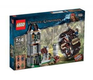 Boite Lego Duel sur la roue (Pirate des caraïbes)