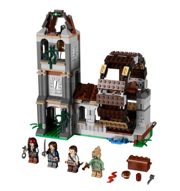 Image du Lego Duel sur la roue (Pirate des caraïbes)