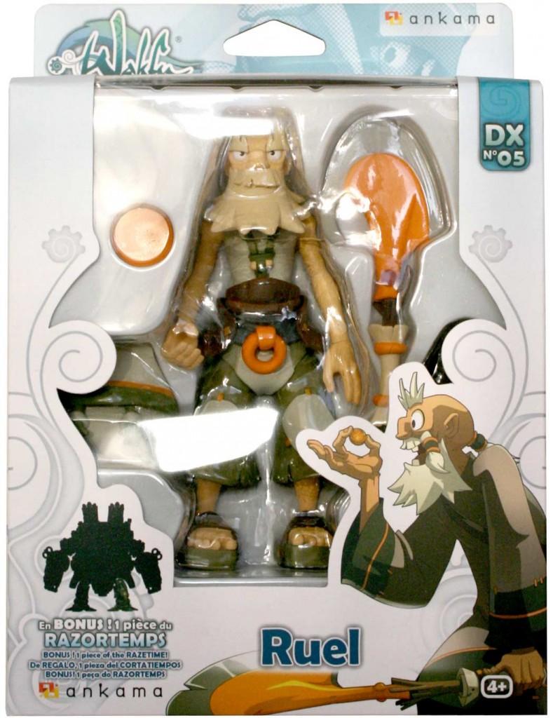Packaging de le figurine Wakfu DX N°5 de Ruel