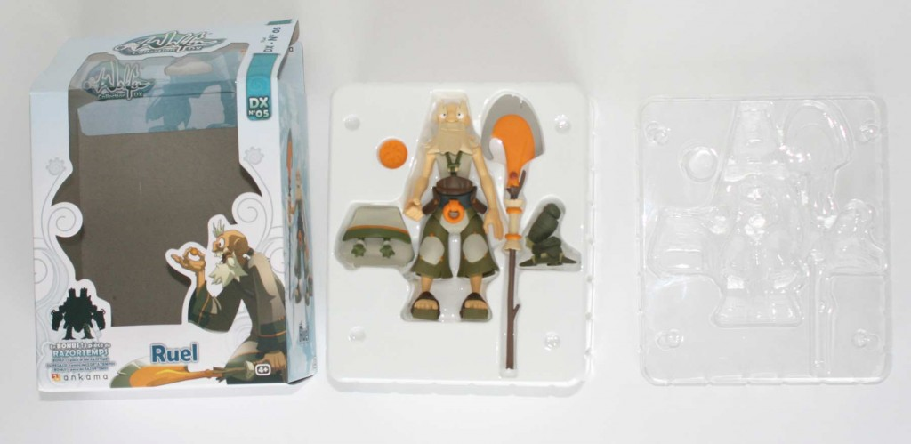 Ouverture du packaging de le figurine Wakfu DX N°5 de Ruel
