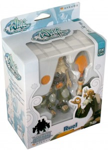 Packaging de le figurine Wakfu DX N°5 de Ruel