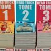 Image des trois premiers volumes des manga Head-Trick