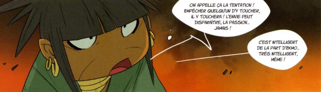 Athila se rend compte que Ekmo l'a manipulé