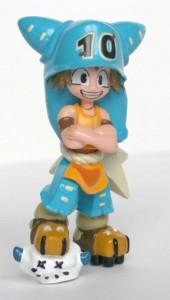 Figurine Wakfu : Yugo en tenue de Boufbowl