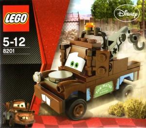 Lego 8201 - Martin (Cars 2)