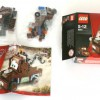 Contenu de la boîte du Lego 8201 - Martin (Cars 2)