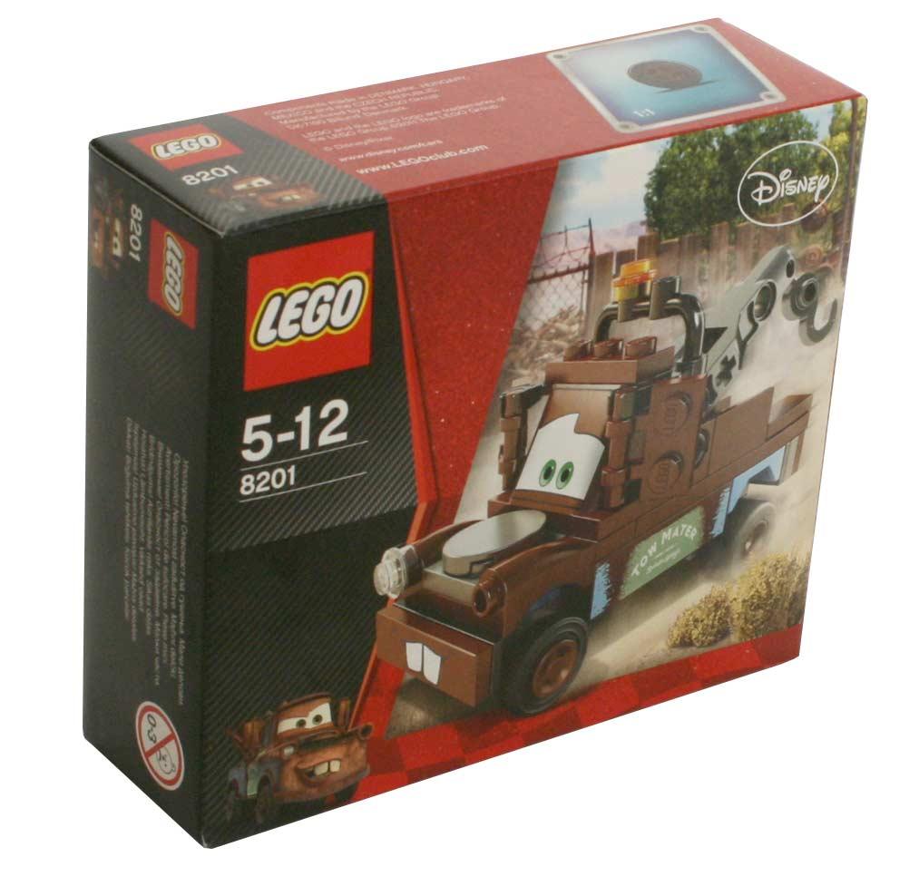 Vue de face du Packaging du Lego 8201 de Martin (Cars 2)